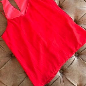 Red reversible Express tank